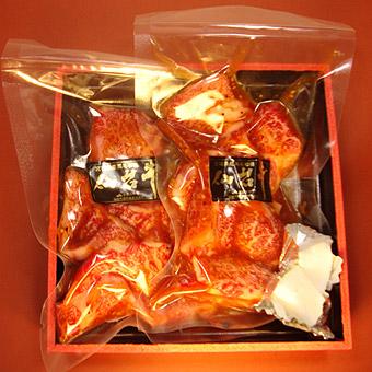 仙台牛サイコロステーキギフト包装イメージ